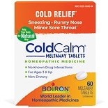 Boiron Coldcalm Homeopathic Cold Medicine