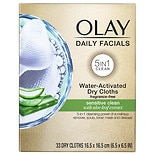 Olay 4-in-1 Daily Facial Cloths, Sensitive
