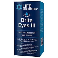 Life Extension Brite Eyes III Vials