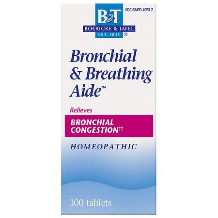 Boericke & Tafel Bronchitis & Asthma Aide, Tablets