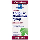 Daytime Cough & Bronchial Syrup Cough Suppressant & Expectorant