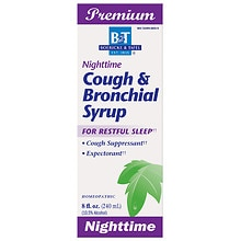 Boericke & Tafel Cough & Bronchial Syrup, Nighttime
