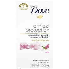 Dove Clinical Protection Clinical Protection Anti-Perspirant Deodorant Solid Revive: Pomegranate & Lemon Verbena