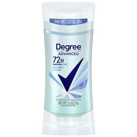 Degree Women Expert Protection MotionSense Antiperspirant & Deodorant Invisible Solid Shower Clean