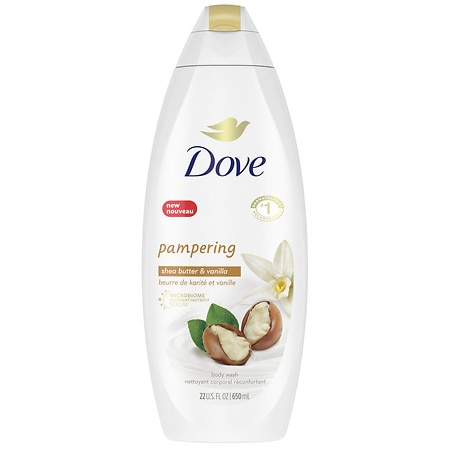 Dove Shea Butter Cream Oil Body Wash Shea Butter & Warm Vanilla