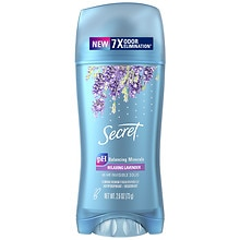 Secret Scent Expressions Antiperspirant & Deodorant Invisible Solid Ooh-La-La Lavender