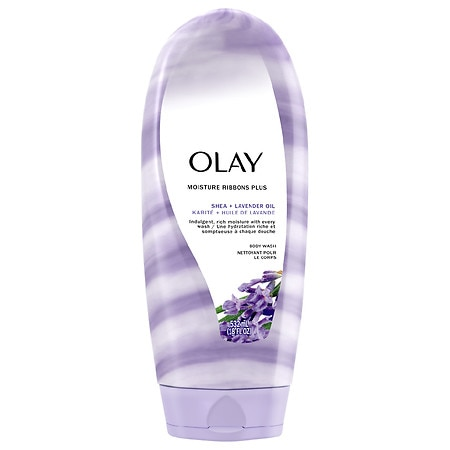 Olay 2-in-1 Essential Oils Ribbons Moisturizing Body Wash Jojoba Extract + Luscious Orchid
