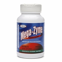 Enzymatic Therapy Mega-Zyme Systemic Enzymes Tablets