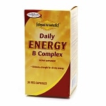Enzymatic Therapy Fatigued to Fantastic! Daily Energy B Complex, Vegetarian Capsules