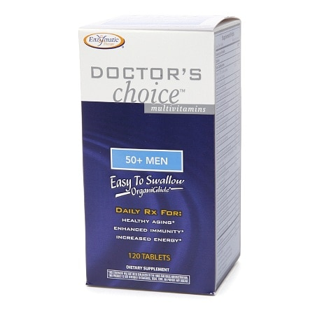Enzymatic Therapy Doctor's Choice Multivitamin, 50+ Men, Tablets