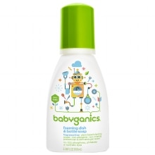 BabyGanics Foaming Dish & Bottle Soap Fragrance Free