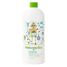 BabyGanics Foaming Dish & Bottle Soap Refill Fragrance Free