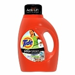 Tide Liquid Detergent plus Febreze Freshness, High Efficiency, 30 Loads Active Fresh Scent