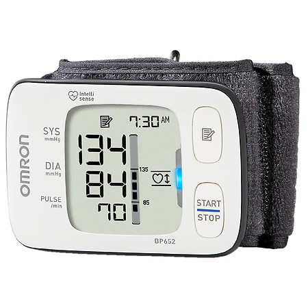 Omron 7 Series Wrist Blood Pressure Monitor, Model BP652