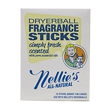 Nellie's All Natural Dryerball Fragrance Sticks Simply Fresh