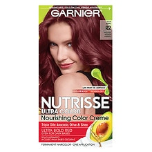Garnier Nutrisse Nourishing Color Creme Red for Naturally Dark Hair Medium Intense Auburn R2