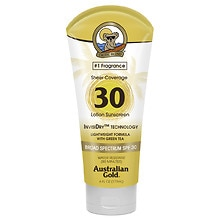 Australian Gold Sheer Coverage Lotion with InvisiDry, SPF 30