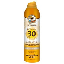 Australian Gold Continuous Spray, SPF 30 Clear