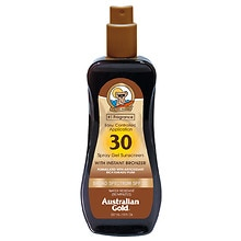 Australian Gold Spray Gel with Instant Bronzer, SPF 30