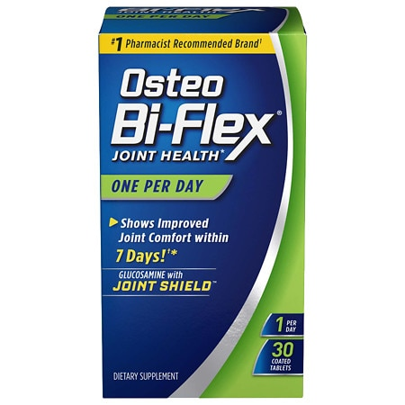 Osteo Bi-Flex Glucosamine HCI & Vitamin D3 Dietary Supplement Coated Caplets
