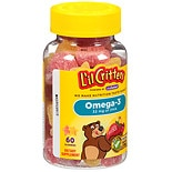 L'il Critters Omega-3 DHA Dietary Supplement Gummy Fish