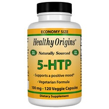 Healthy Origins 5-HTP, 100mg, Capsules