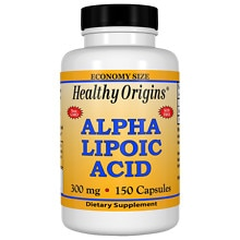 Healthy Origins Alpha Lipoic Acid, 300mg, Capsules