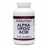 Alpha Lipoic Acid, 600mg, Capsules