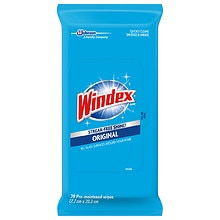 Windex Original Glass & Surface Wipes