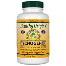 Healthy Origins Pycnogenol 100mg, Capsules