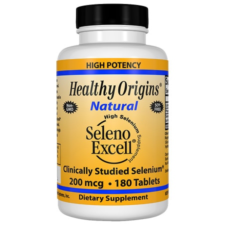 Healthy Origins Seleno Excell 200mcg, Tablets