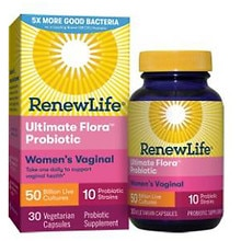 ReNew Life Ultimate Flora Vaginal Support Dietary Supplement Capsules