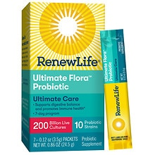 ReNew Life Ultimate Flora Super Critical 200 Billion Maximum Support Probiotic Dietary Supp