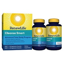 ReNew Life CleanseSmart Advanced Dietary Supplement Vegetable Capsules