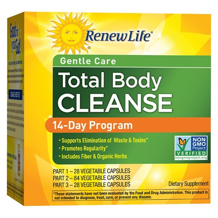 ReNew Life Organic Total Body Cleanse, 3-Part Program