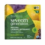 Seventh Generation Natural Laundry Detergent Powder, 70 Loads Real Citrus & Wild Lavender