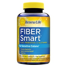 FiberSmart Fiber Dietary Supplement Vegetable Capsules