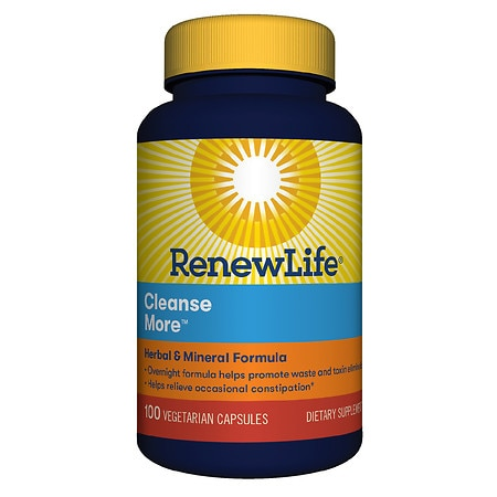 ReNew Life CleanseMore Dietary Supplement Vegetarian Capsules