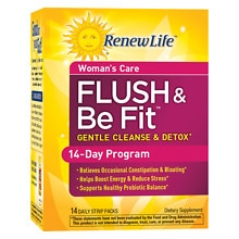 ReNew Life Flush & Be Fit Dietary Supplement Strip-Packs