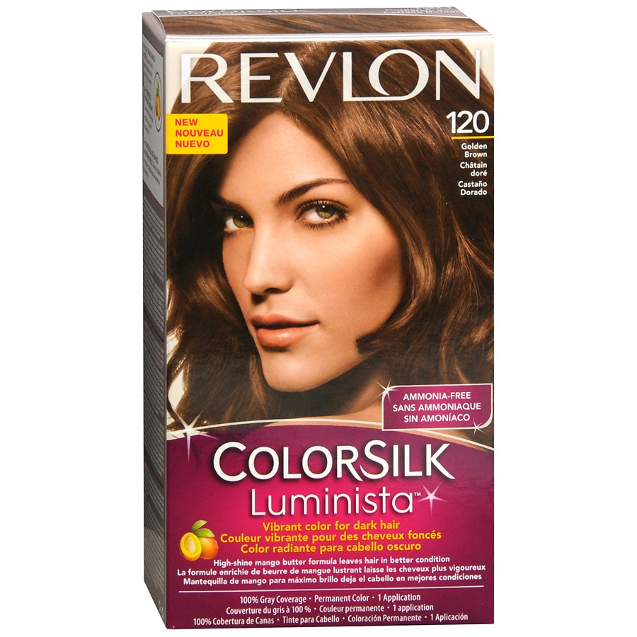 Revlon ColorSilk Luminista Vibrant Color For Dark Hair  Walgreens