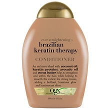OGX Conditioner Ever Straight Brazilian Keratin Therapy