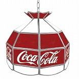 wag-Coca Cola Vintage 16 Inch Stained Tiffany Lamp