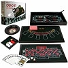 Trademark Poker 4 in 1 Casino Game Table Roulette, Craps, Poker, BlackJack