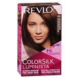 Revlon ColorSilk Luminista Hair Color Dark Golden Brown 114