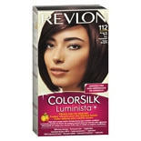 Revlon ColorSilk Luminista Permanent Hair Color Kit Burgandy Black 112