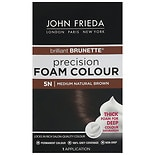 John Frieda Precision Foam Color Permanent Hair Colour 5N Brilliant Brunette Medium Natural Brown