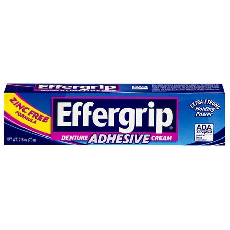 Effergrip Denture Adhesive Cream