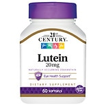 21st Century Lutein, 20mg, Softgels
