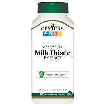 Milk Thistle Extract, Vegetarian Capsules