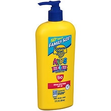 Banana Boat Kids Tear Free Sunscreen Lotion, SPF 50